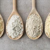 Farinha de trigo integral X Farinha de arroz integral